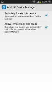 android device manager permissions locate lock erase